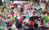 Abbellimenti degli accessori di motivo di Applique del fiore del Crochet della mano di modo