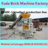 Deutschland-Technologie-konkrete Ziegelstein-Maschine von der China-Fertigung