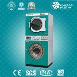 Ce/ISO Bescheinigung-Wäscherei-Stapel-Unterlegscheibe und Trockner