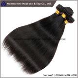 Trama recta del pelo de la Virgen del pelo humano de Silkly
