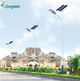Réverbère solaire séparé par qualité professionnelle de l'approvisionnement excellente DEL d'usine de constructeur