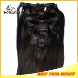 Remy brasileño de calidad superior Virgin Clip en Hair