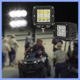 """3 """" luz blanca del trabajo de Watorproof LED del punto campo a través de la inundación de 18W 6 LED 4X4 4WD (CK-WC0603A)"""