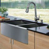 Casa da quinta Handmade 18ga Kitchen Sink de Res-3302 Stainless Steel