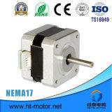 Motor de pasos de la nema 17/42*42 con el conector