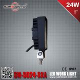 """5 """" Suvsのための24W LED車作業ドライビング・ライト"""