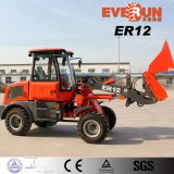 Everun Brand Mini Loader Er12 con Snow Bucket