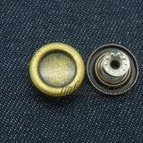金の真鍮の水晶はジーンズの金属ボタンを除去する
