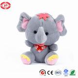 Trousseau de clés animal se reposant de Noël bourré par éléphant neuf de jouet de peluche
