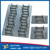 Conector de acero galvanizado construcción de madera