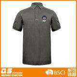 T-shirt rond de collet du polo des hommes