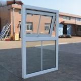 Белое стекло двойника окна тента профиля цвета UPVC с решеткой Kz327