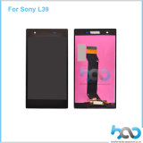 Écran LCD d'accessoires de téléphone mobile pour le panneau de contact de Sony Z1 L39
