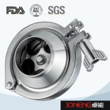 Válvula de verificação apertada sanitária do aço inoxidável (JN-NRV2002)