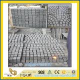 Естественные Cobble гранита/кубик/кубический камень для Landscaping, сад Paver вымощая камня