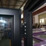Ввозимые товары профиля цвета высокого качества окно Casement серого алюминиевого открытое с Multi замком и втройне стеклом K03062