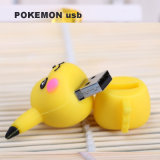 Le flash USB Pendrive 8GB, 16GB, 32GB, 64GB de carton de modèle de Pokemon pour choisissent