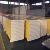 Cold 룸 Storage/Warehouse를 위한 Pur/PIR Sandwich Wall Panel
