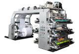 La alta precisión Mulic colorea venta caliente de la máquina flexográfica de la impresora