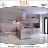 N&Lの新しい到着の粉の上塗を施してある多彩なステンレス鋼の食器棚