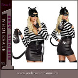 "Traje animal da roupa interior ""sexy"" adulta de Halloween da dança do partido (TLQZ1645)"