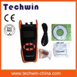 Метр силы волокна Techwin Tw3212e используемый в измерении режима взрыва 1310 в верхней части потока