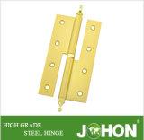 鋼鉄または鉄のドアのハードウェアHのヒンジ(100/120/140/160X76mm)