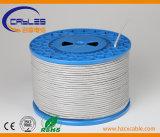 Cable de LAN aprobado de la red de comunicaciones de UL/Ce/RoHS/ISO UTP LSZH Cm/Cmr Cat5e