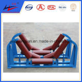 Con Rollers para Belt Conveyor, Carrier Roller, Steel Conveyor Roller