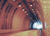 Membrane de imperméabilisation de HDPE utilisée dans des tunnels