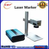marcador de fibra óptica portátil do laser 30W com Ce FDA