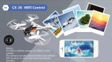 RTF управлением RC Quadcopter WiFi APP камеры 15136c-2MP миниый