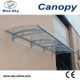 Balcony Fans (B900-3)를 위한 알루미늄 Polycarbonate Awning