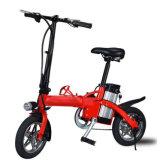2 rodas elétricas que dobram a bicicleta com bateria de Lithuim