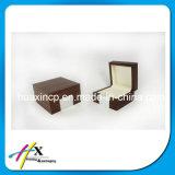 Деревянная коробка подарка упаковки бумаги ювелирных изделий вахты