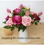 줄기 로즈 단 하나 후비는 물건 인공 꽃 (SW03335)
