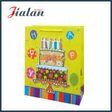 Alles Gute zum Geburtstag mit Einkaufen-Geschenk-Papierbeutel des Kuchen-anpassen 3D