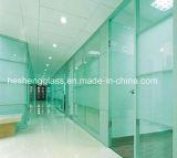 vidro Tempered desobstruído de 12mm como a parede do escritório