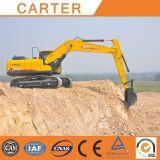 Heißer Multifunktionshydraulischer Gleisketten-Hochleistungsexkavator Verkäufecarter-CT220-8c