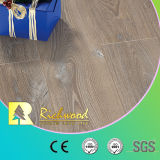 12.3mmのカシのV溝がある寄木細工の床の木製の木の薄板にされた積層のフロアーリング