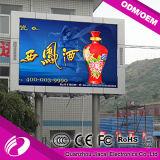 P10 imperméabilisent l'étalage de mur visuel de DEL pour la publicité