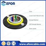 Cable unimodal de la fibra del miembro de fuerza de FRP 6cores ADSS/Fibra Optica 6 Hilos