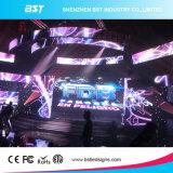 Écran d'intérieur polychrome d'affichage à LED de location de la définition P3.9 élevée