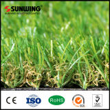Balcony를 위한 SGS Certificate Fake Green Artificial Grass Carpet