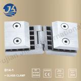 Alta calidad en acero inoxidable baño abrazadera de cristal del hardware 14-1