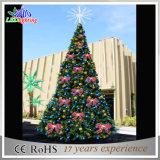 人工的な屋外の装飾LED PVCクリスマスの巨大な木ライト