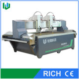 Glass를 위한 두 배 Cutting Head Waterjet Cutting Machine
