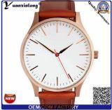 Dos relógios ocasionais do homem de negócio do relógio de quartzo da forma dos homens do relógio Yxl-920 relógio luxuoso Relogio Masculino das faixas de relógio do couro do tipo