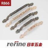 Poignée de traction de meubles de conception de mode dans en alliage de zinc (R-866)