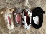 4 لون أطفال أحذية حيوانيّ رئيسيّة داخليّة